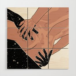 Touch me Wood Wall Art