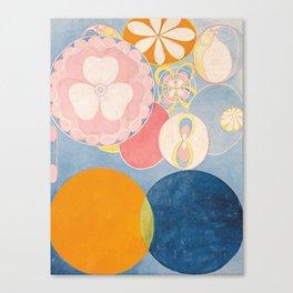 Hilma af Klint - The Ten Largest No. 2 Childhood Canvas Print