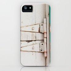 the barn door  iPhone (5, 5s) Slim Case