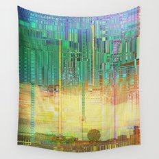 Atlante / CITIES over CITIES Wall Tapestry