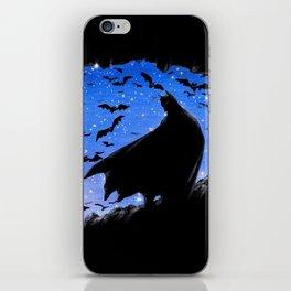 Batmaninthe Batcave iPhone Skin