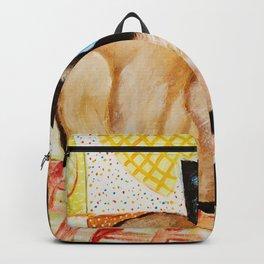 Misha the beautiful Siamese Cat Backpack