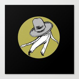 Mr. Hat Canvas Print