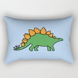 Cute Stegosaurus Rectangular Pillow