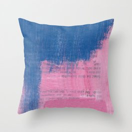 i don't know if i can keep you satisfied my love Throw Pillow