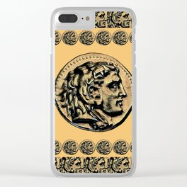 Hercules the GOAT Hero Clear iPhone Case