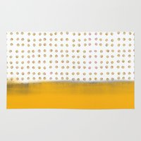dot Area & Throw Rugs featuring dot dot dot by Francesco Pittiglio Berger