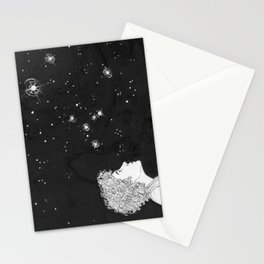 They Just Blink at Us (Sirius) Stationery Cards