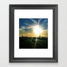 Sun Chaser Framed Art Print