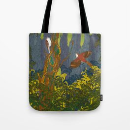 Can't See the Wood for the Treecreepers Tote Bag