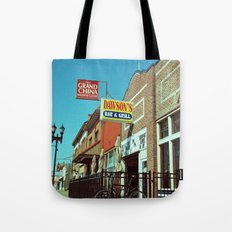 Dawson's Bar & Grill Tote Bag