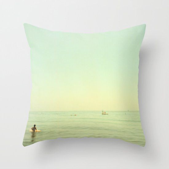 Pontoon Throw Pillow