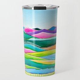 Pastel Hills Travel Mug