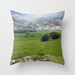 atmosphere 69 Throw Pillow