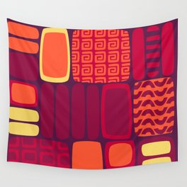 Quilted Flame Wall Tapestry