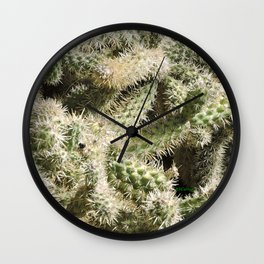 TEXTURES -- Munz's Cholla Wall Clock