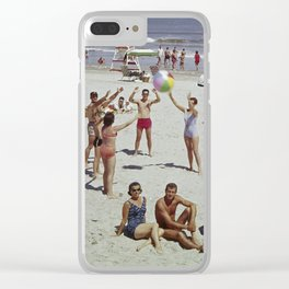 1960's Wildwood, New Jersey Beach Clear iPhone Case