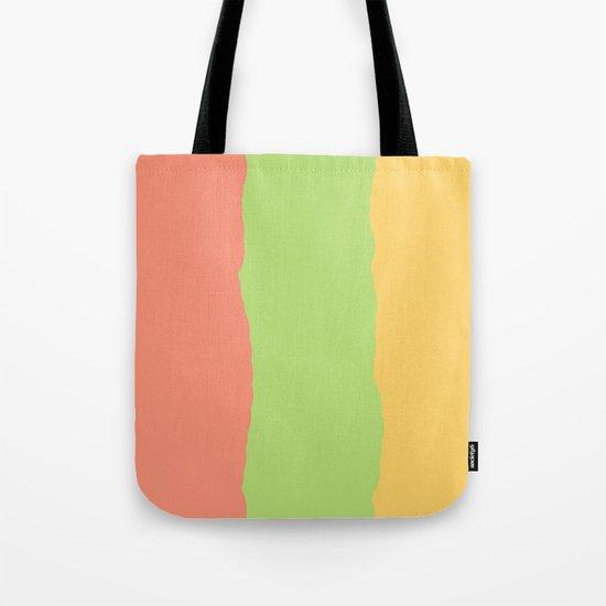 Rainbow Sherbet Tote Bag