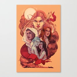 THE WIVES Canvas Print