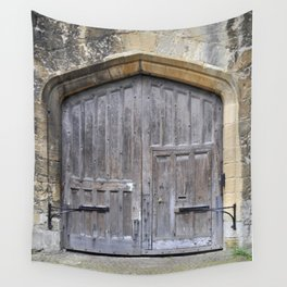 Oxford door 13 Wall Tapestry