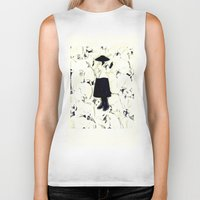 orchid Biker Tanks featuring orchid by Yeize Studio_Seize The Day!
