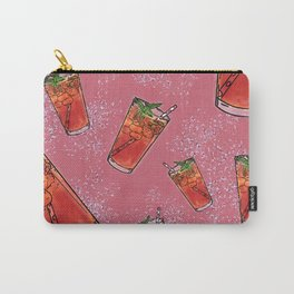 THERE'S ALWAYS TIME FOR ICE TEA! - PINK Carry-All Pouch