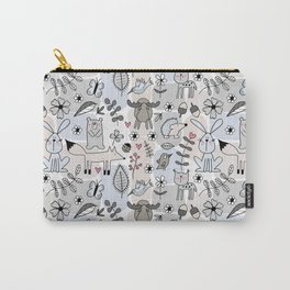 Nordic forest animals Carry-All Pouch