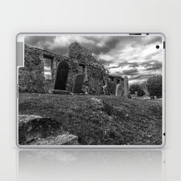 Ruins of the Cill Chriosd Church and Cemetery Laptop & iPad Skin