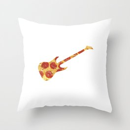 Tug At My Pizza Strings Throw Pillow