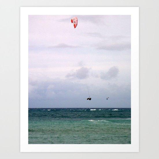Let's Go Fly a Kite...In The Ocean Art Print