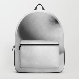 Naked Breast Black and White Backpack