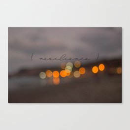 { resilience }  Canvas Print