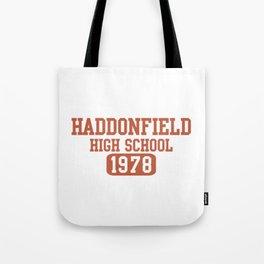 HADDONFIELD HIGH SCHOOL 1978 Tote Bag