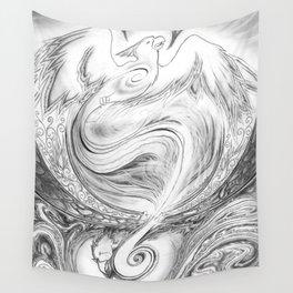 Phoenix Rising Wall Tapestry