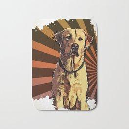 My favorite dog Bath Mat