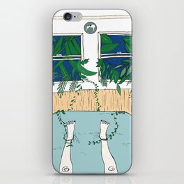 when the outside wants in, let it take you away. iPhone Skin