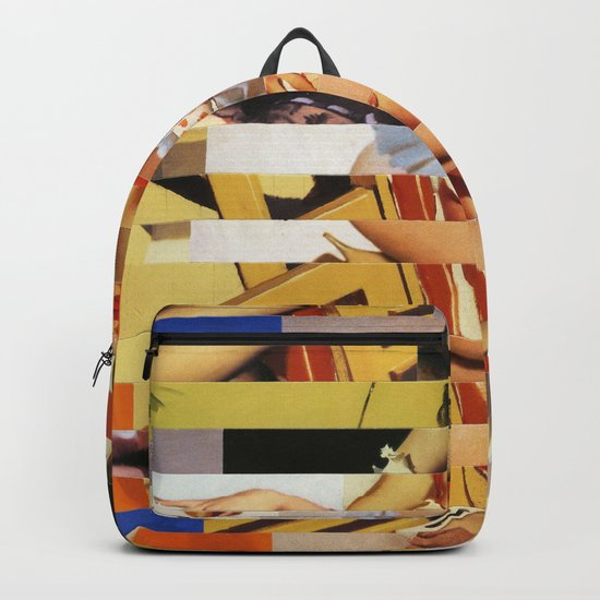 Glitch Pin-Up Redux: Vanessa Backpack