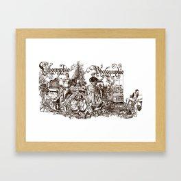 'Pseudologie' Framed Art Print