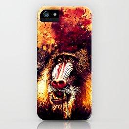 baboon monkey wsls iPhone Case