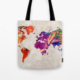 World Map 50 Tote Bag