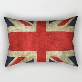 GRUNGY BRITISH UNION JACK  DESIGN ART Rectangular Pillow