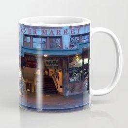 corner market morning Coffee Mug