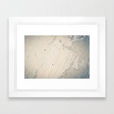 Wall Textures Framed Art Print