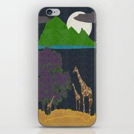 Dusk On The Plain iPhone Skin