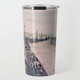 Swanage Pier Antique Travel Mug