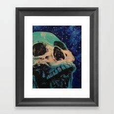 Zombie Stars Framed Art Print