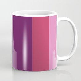 Mauve stripes Coffee Mug