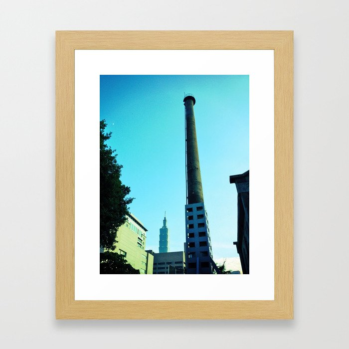 History. Framed Art Print