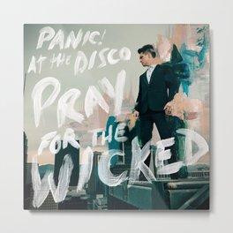 panic pray at wicked disco tour 2019 halim Metal Print