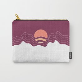 Sunrise in the Mountains Carry-All Pouch